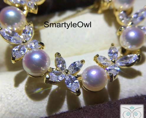 pearl wreath brooch