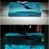 resin cube