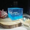 dolphin resin diorama