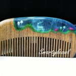 wood resin comb