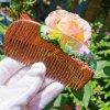wood resin comb