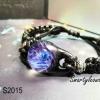 galaxy resin bracelet