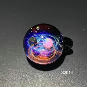 galaxy glass pedant